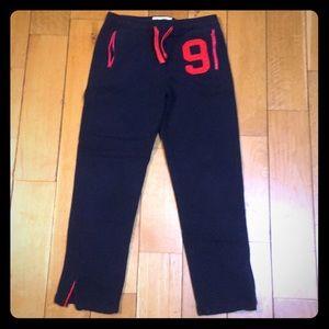 Boys XL Abercrombie Sweatpants in Navy Blue
